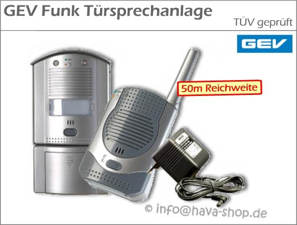 gev funk t rsprechanlage t r sprechanlage audio gegensprechanlage haus anlage ebay. Black Bedroom Furniture Sets. Home Design Ideas