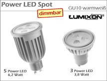Power LED Spot GU10 dimmbar