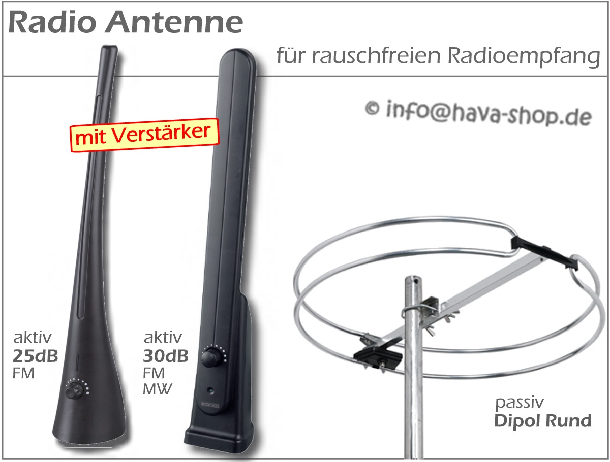 30db mw ukw fm mit radioantenne verst rker radio zimmerantenne zimmer antenne. Black Bedroom Furniture Sets. Home Design Ideas