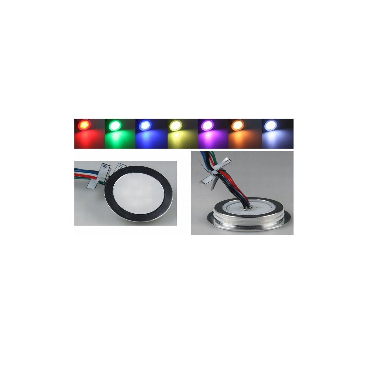 LED Esterno Lampada da incasso ultra slim ip67 pavimento soffitto pavimento L...