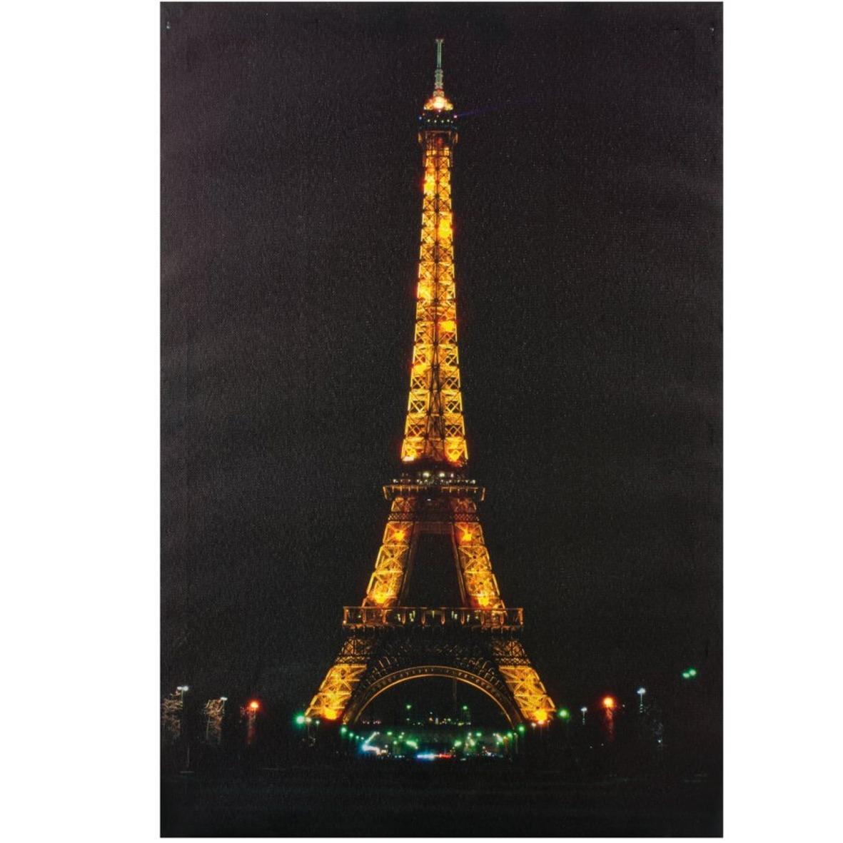 led bilder beleuchtet bild schild wandbild neon eiffelturm