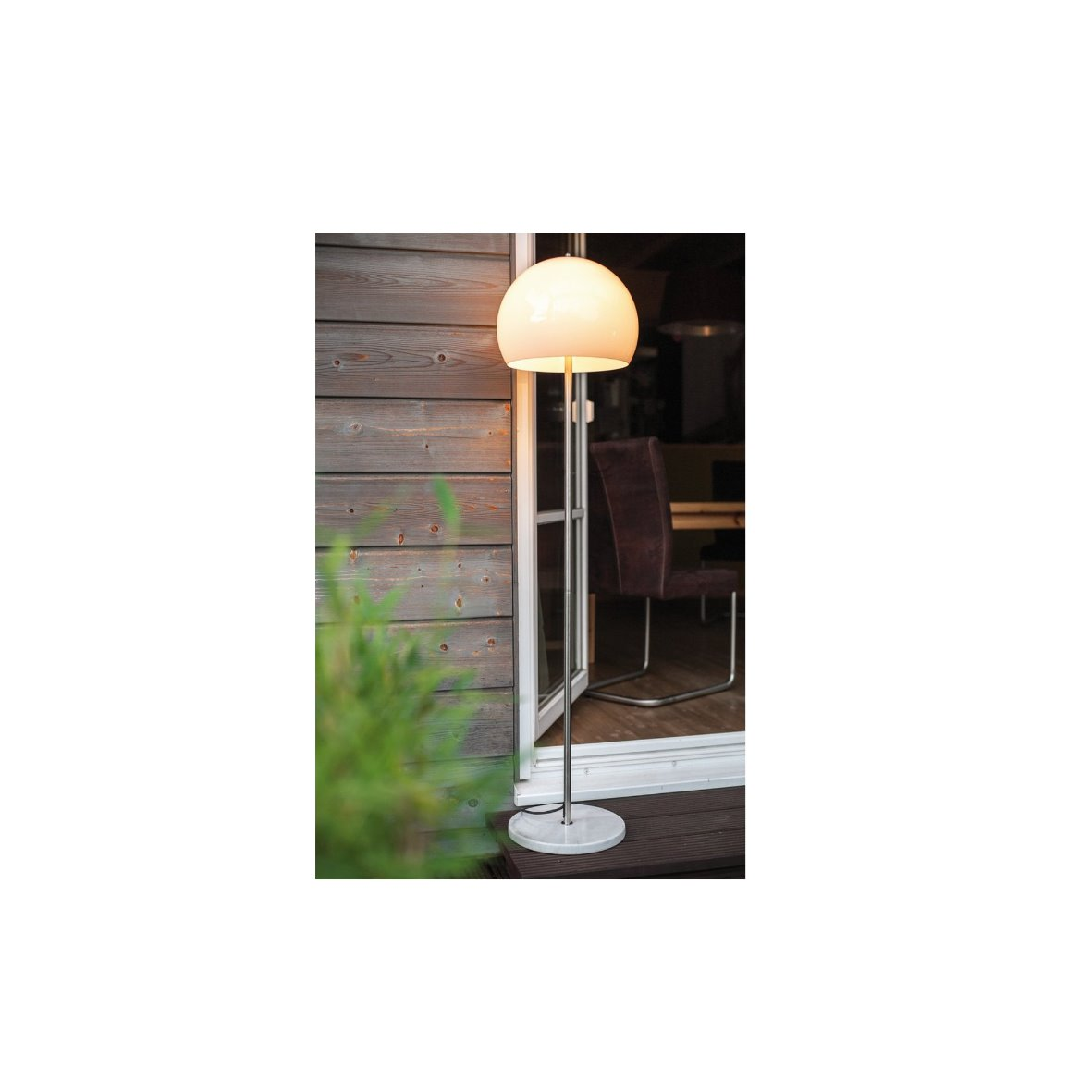 aussenleuchte aussen stehleuchte stehlampe stehleuchte standleuchte marmor au en. Black Bedroom Furniture Sets. Home Design Ideas