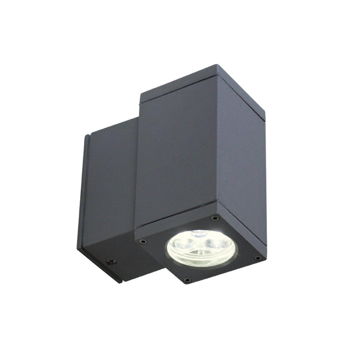 led fassadenleuchte fassade au enleuchte wandleuchte spot strahler au enstrahler ebay. Black Bedroom Furniture Sets. Home Design Ideas