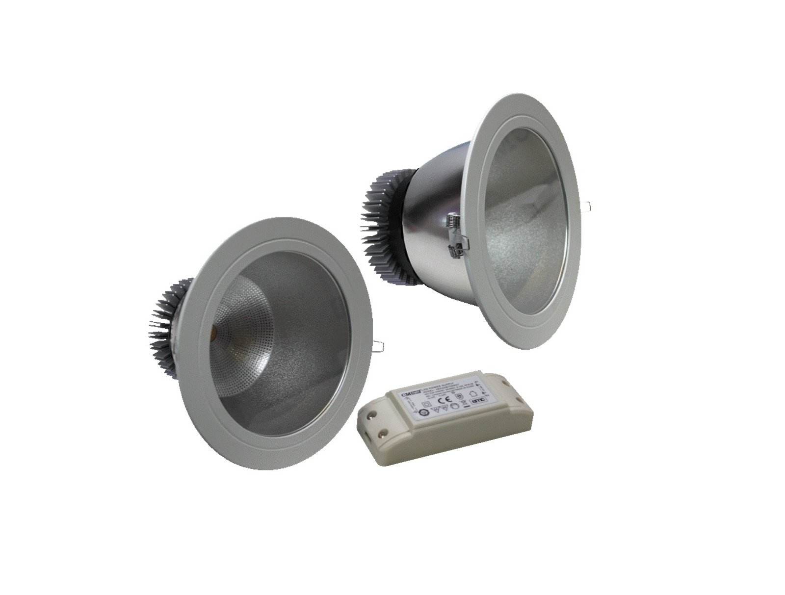 led cob downlight spot einbaustrahler decke einbau strahler leuchte 5w 20w 230v ebay. Black Bedroom Furniture Sets. Home Design Ideas