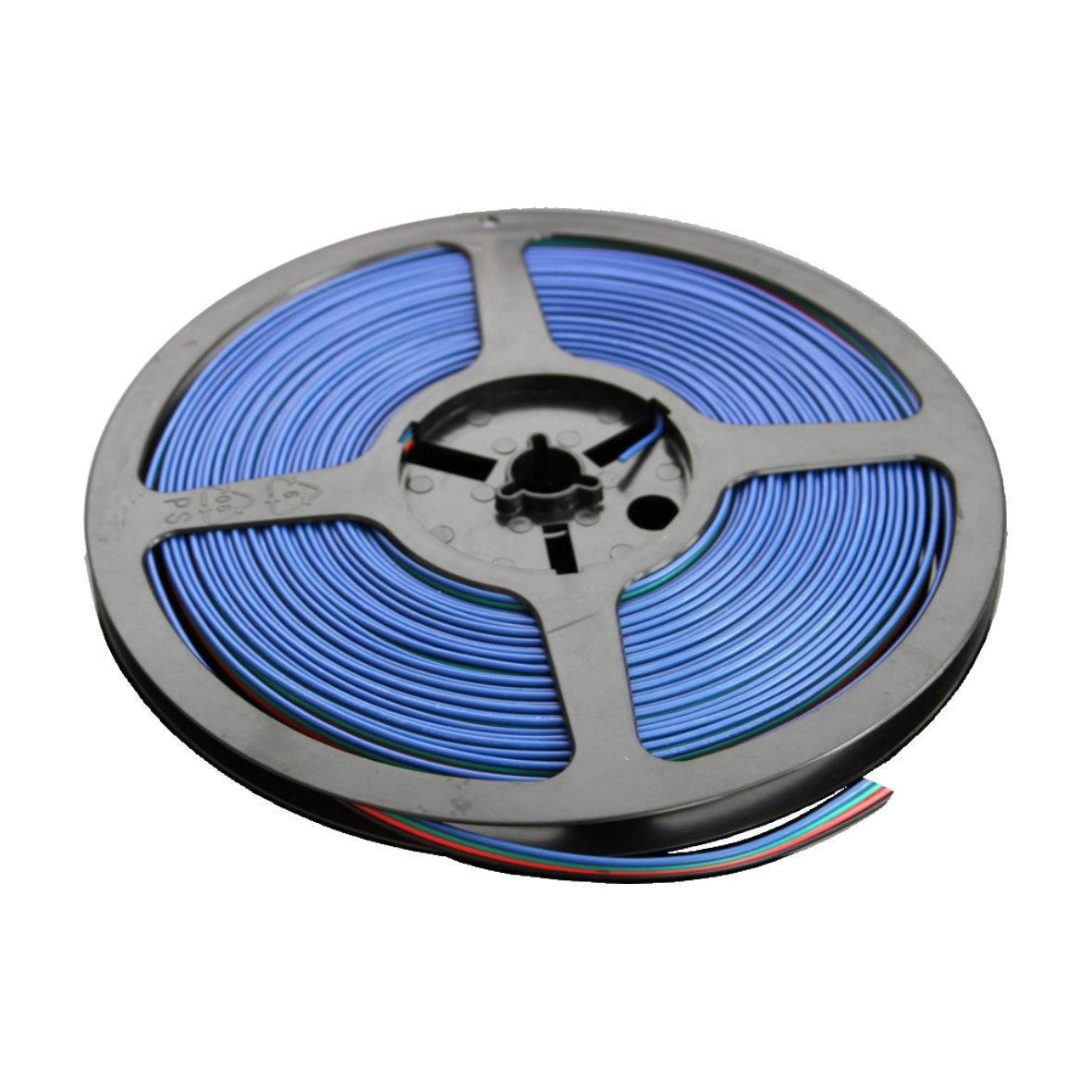led lichtband strip adapter verbindungskabel kabel pin stecker clip ecke eck rgb ebay. Black Bedroom Furniture Sets. Home Design Ideas