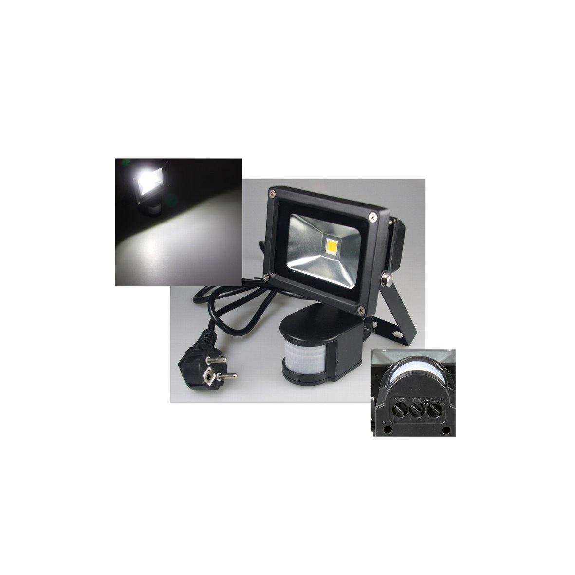 led cob aussenstrahler strahler fluter flutlicht baustrahler feuchtraum aussen ebay. Black Bedroom Furniture Sets. Home Design Ideas