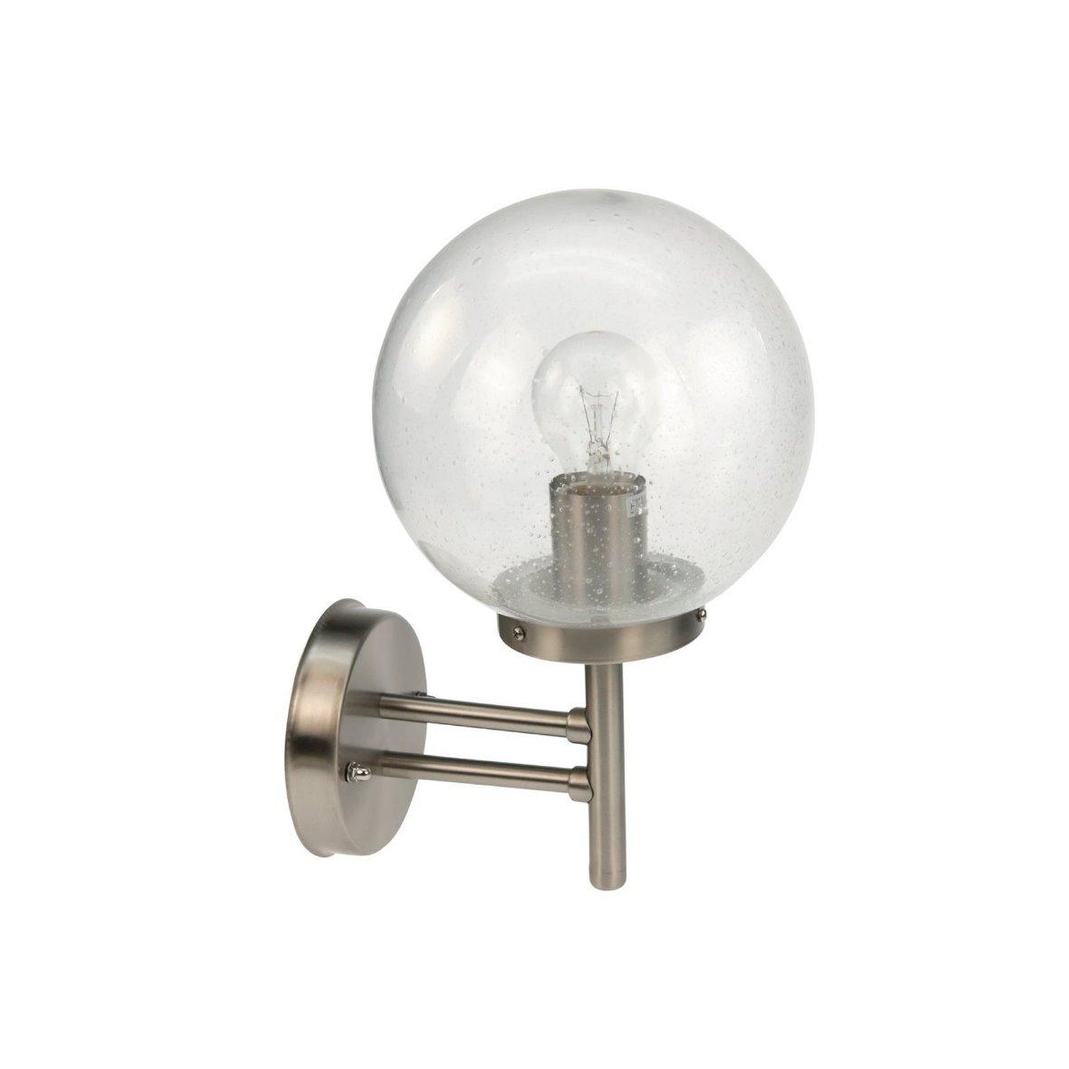 aussenleuchte aussenlampe aussen wand lampe leuchte wandlampe strahler edelstahl ebay. Black Bedroom Furniture Sets. Home Design Ideas