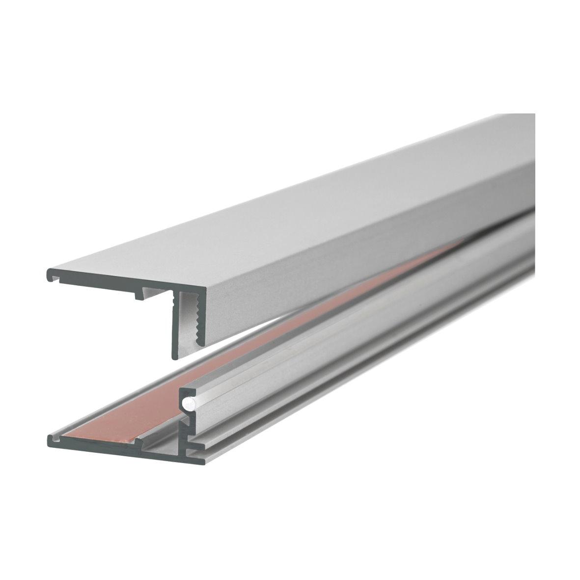 39 9 m led alu profil aluprofil aluminium schiene. Black Bedroom Furniture Sets. Home Design Ideas