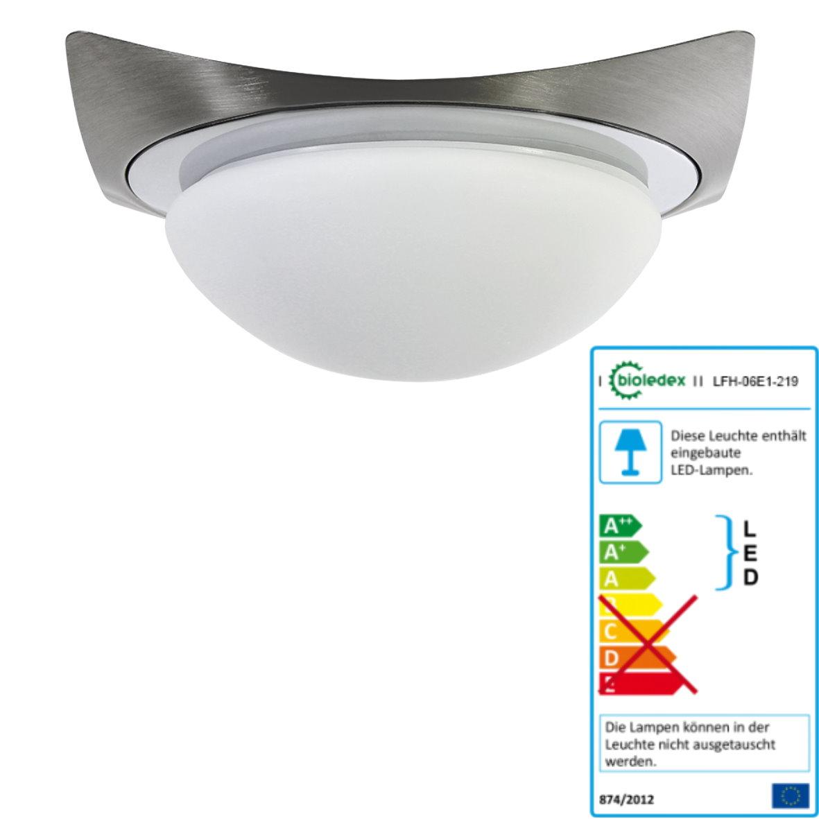 LED Lampada da soffitto 6w ip44 applique da bagno in ...