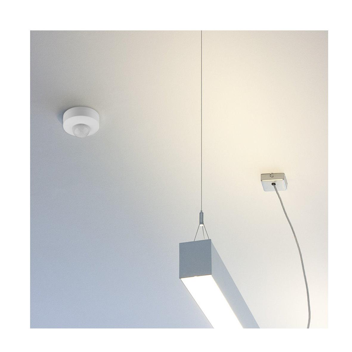 bewegungsmelder 360 sensor au en einbau led decke wand 230v unterputz spot wei ebay. Black Bedroom Furniture Sets. Home Design Ideas