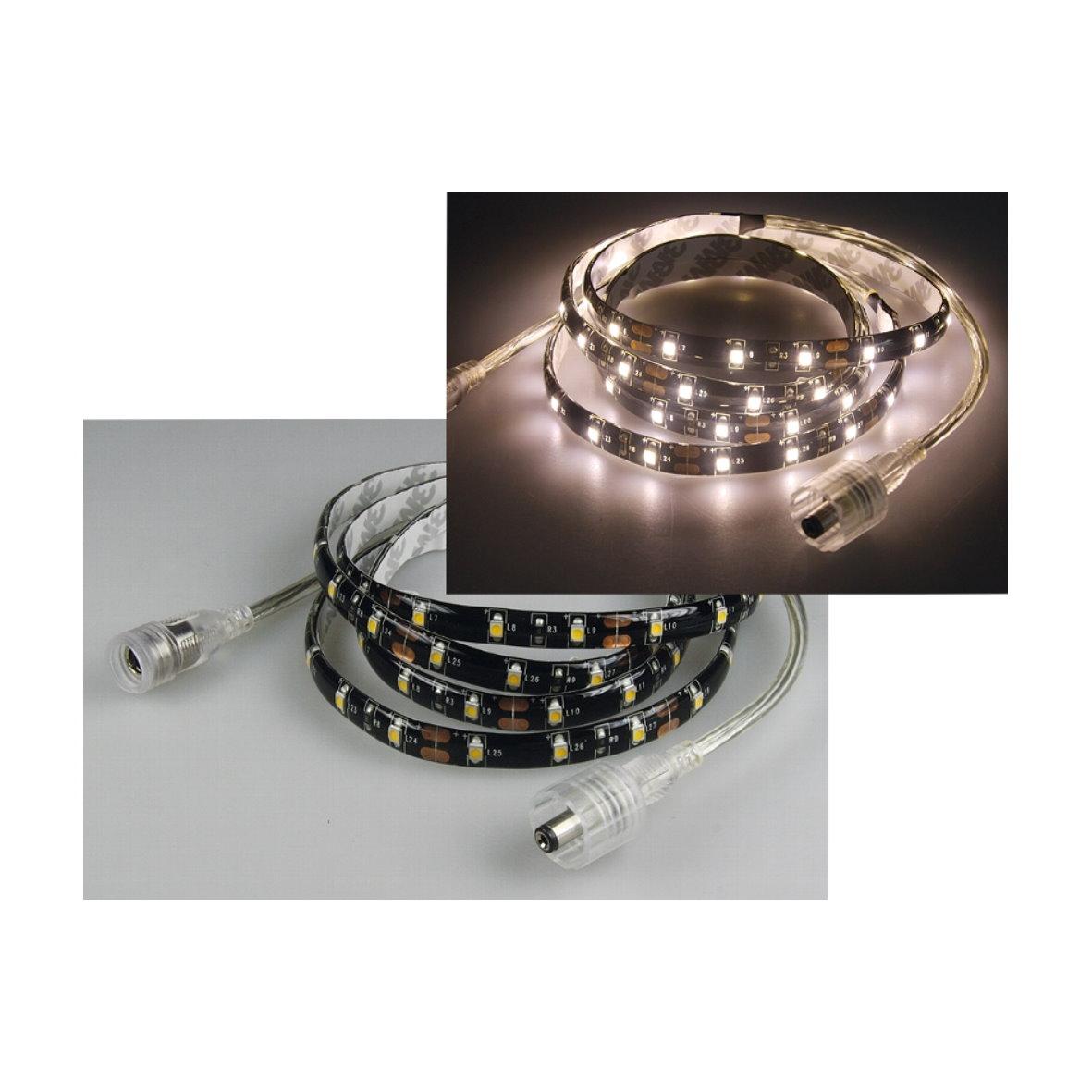 led lichtband licht band stripe streifen dimmbar rgb 3528 4028 5050 5630 bis 40m ebay. Black Bedroom Furniture Sets. Home Design Ideas