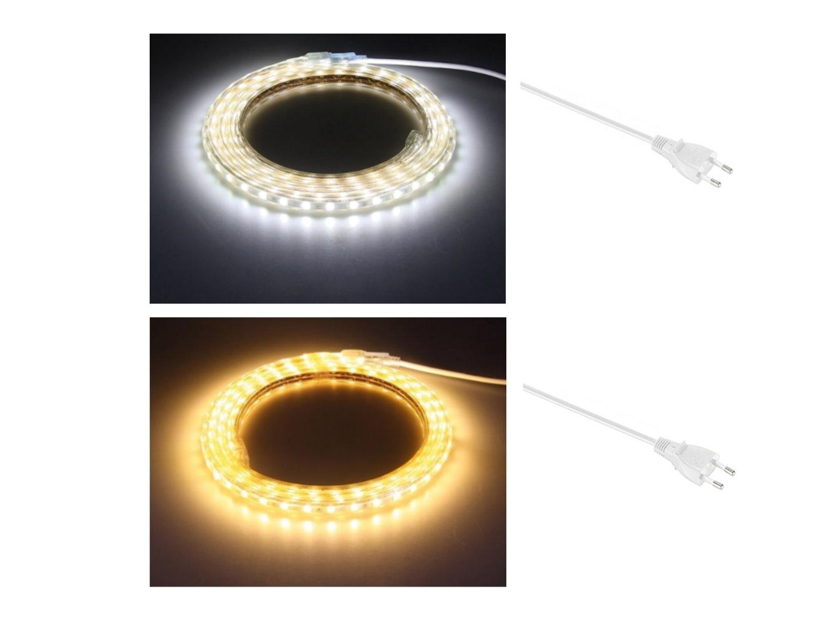 led lichtband 230v dimmbar ip44. Black Bedroom Furniture Sets. Home Design Ideas