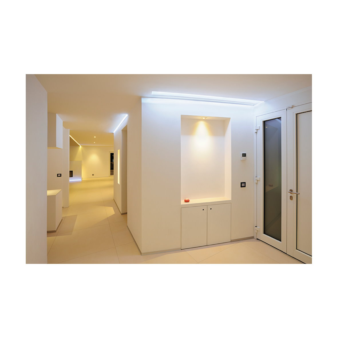 led lichtband ip44 230v mit stecker stripe schlauch dimmbar 50 500w 5 50m ebay. Black Bedroom Furniture Sets. Home Design Ideas