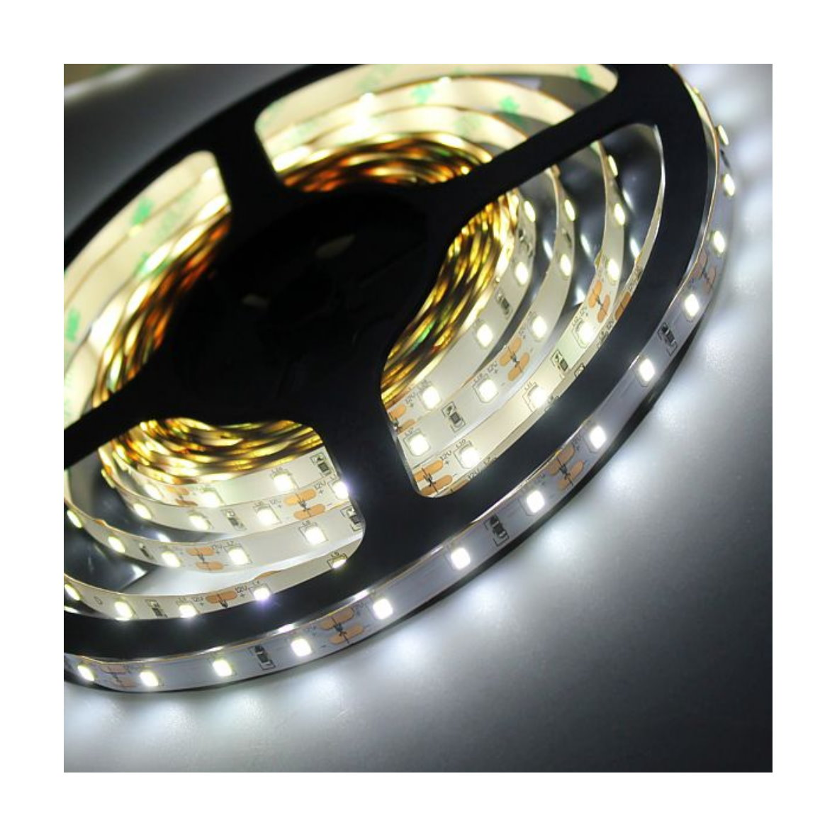 led lichtband dimmbar 25m led lichtband neutralwei 230v. Black Bedroom Furniture Sets. Home Design Ideas