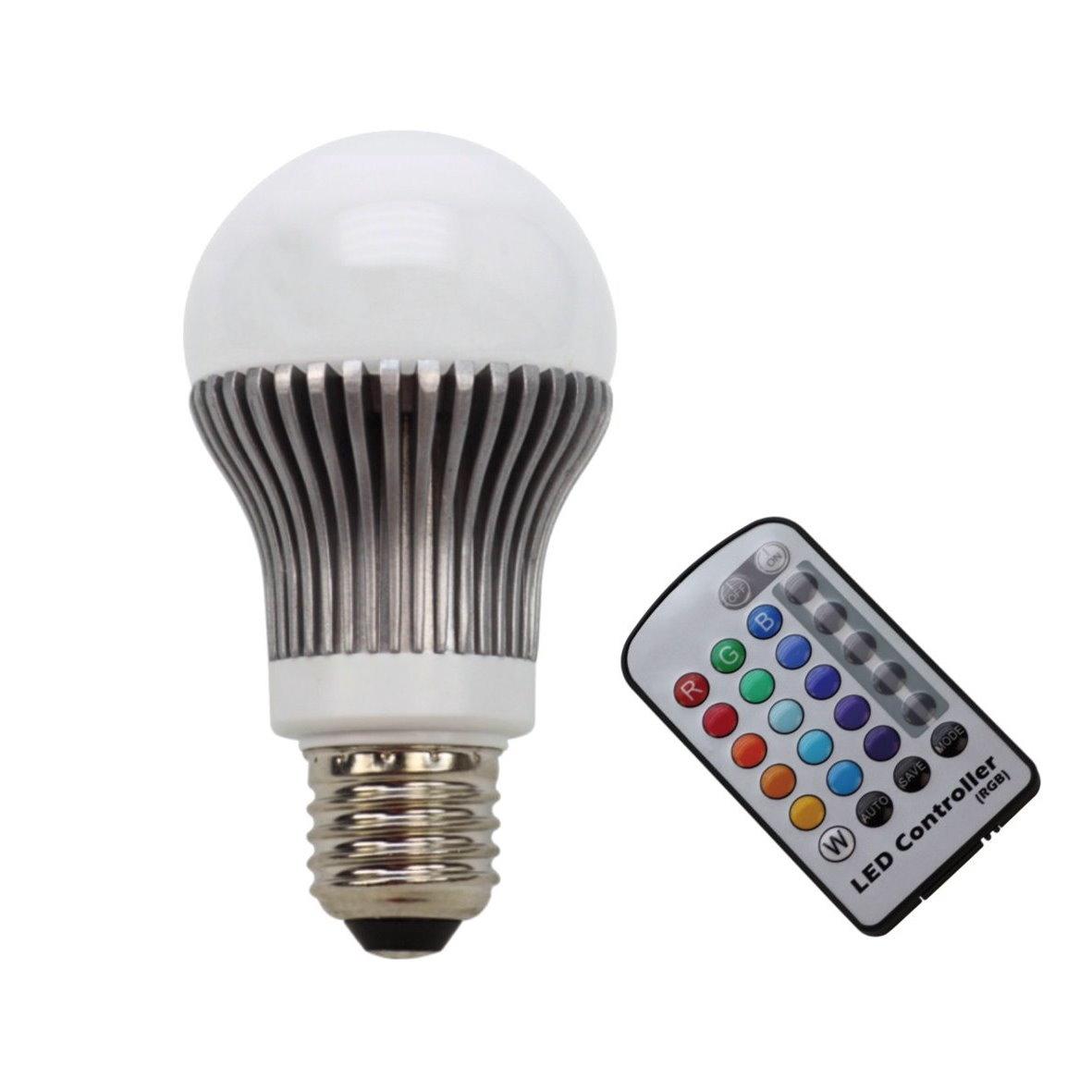 power led rgb leuchtmittel farbwechsel strahler reflektor cob remote licht lampe ebay. Black Bedroom Furniture Sets. Home Design Ideas