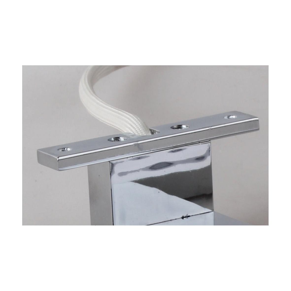 led aufbauleuchte strahler bad schrankleuchte spiegelleuchte badleuchte alu 230v ebay. Black Bedroom Furniture Sets. Home Design Ideas