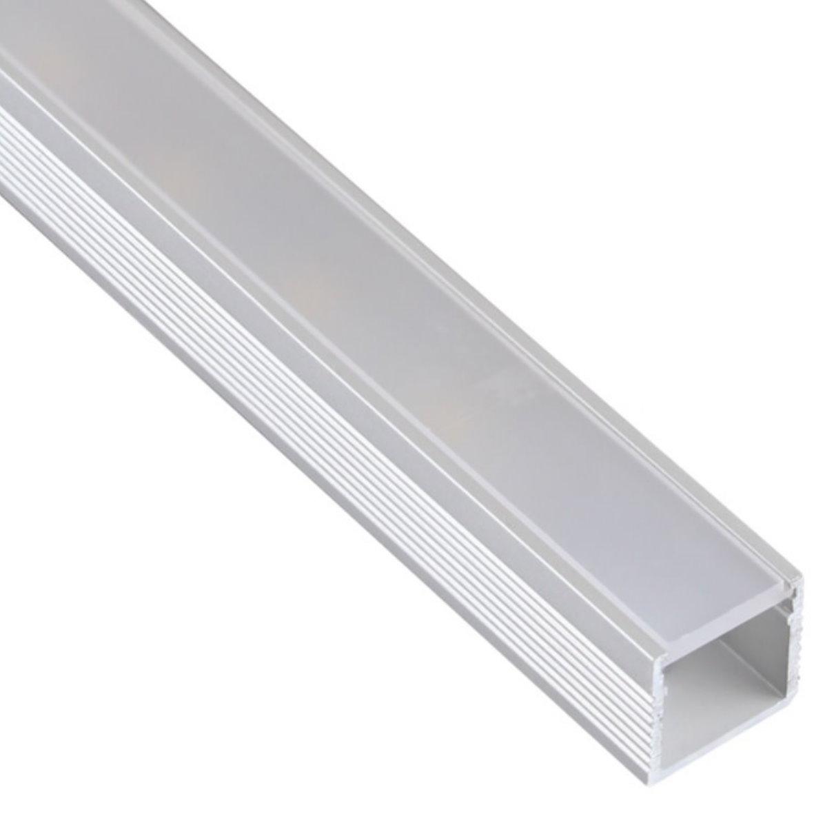 29 9 m led aluprofil alu profil schiene aluminium. Black Bedroom Furniture Sets. Home Design Ideas