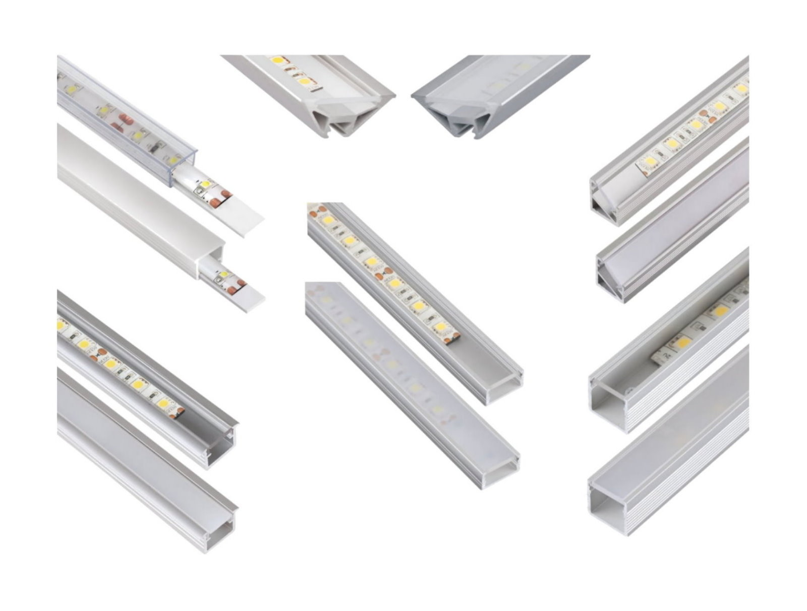 LED Aluprofil Basic