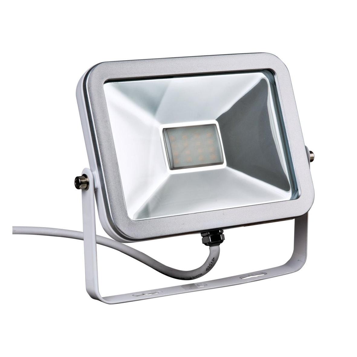 smd led slim aussenfluter flutlichtstrahler strahler fluter flutlicht 230v ip65 ebay. Black Bedroom Furniture Sets. Home Design Ideas