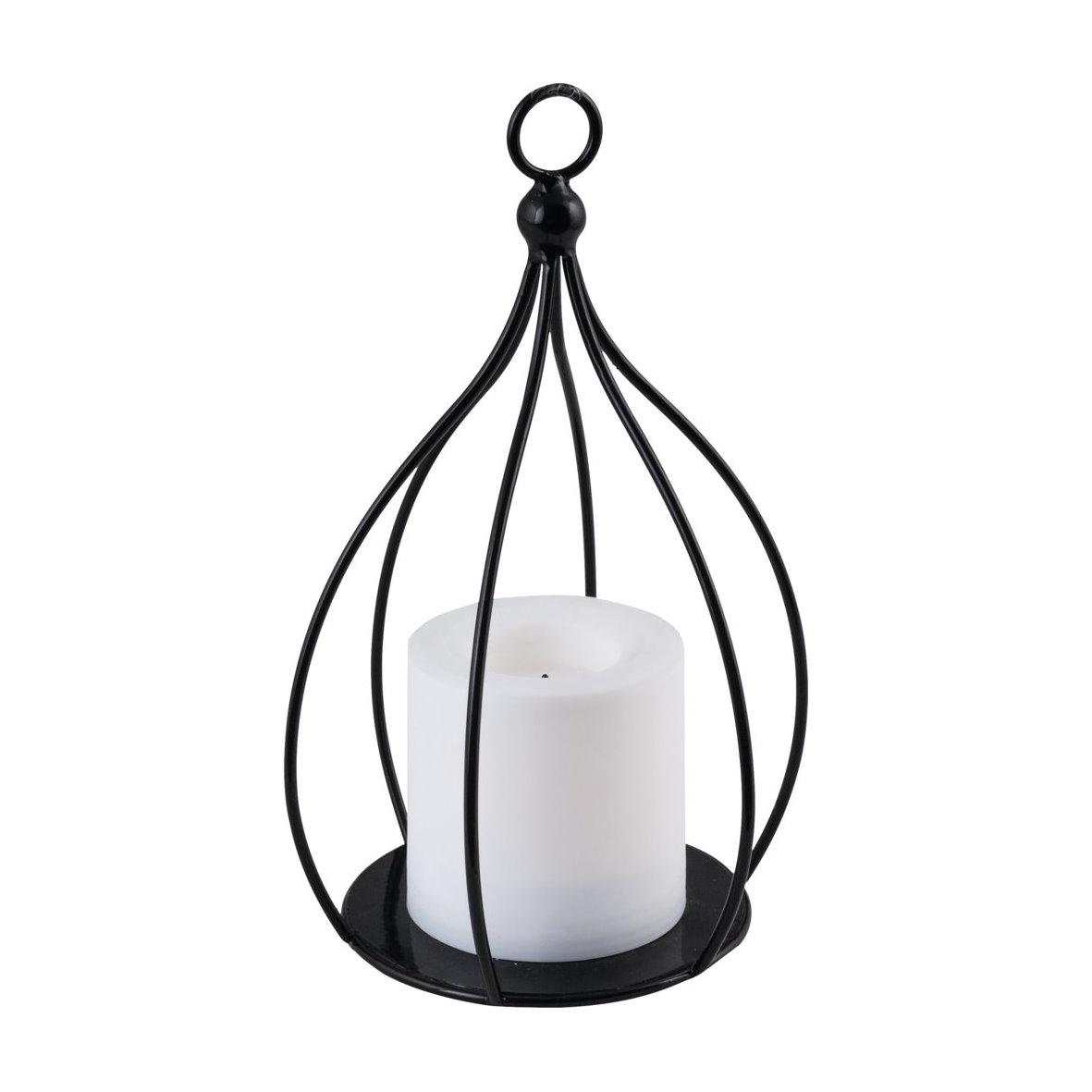led laterne leuchte haus deko vintage lampe batterie flackerlicht licht ambiente. Black Bedroom Furniture Sets. Home Design Ideas