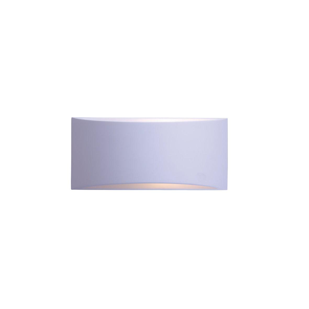 Wandleuchte Wohnraum Wohnzimmer Wand Strahler Wandstrahler Leuchte Glas Alu Gips  eBay