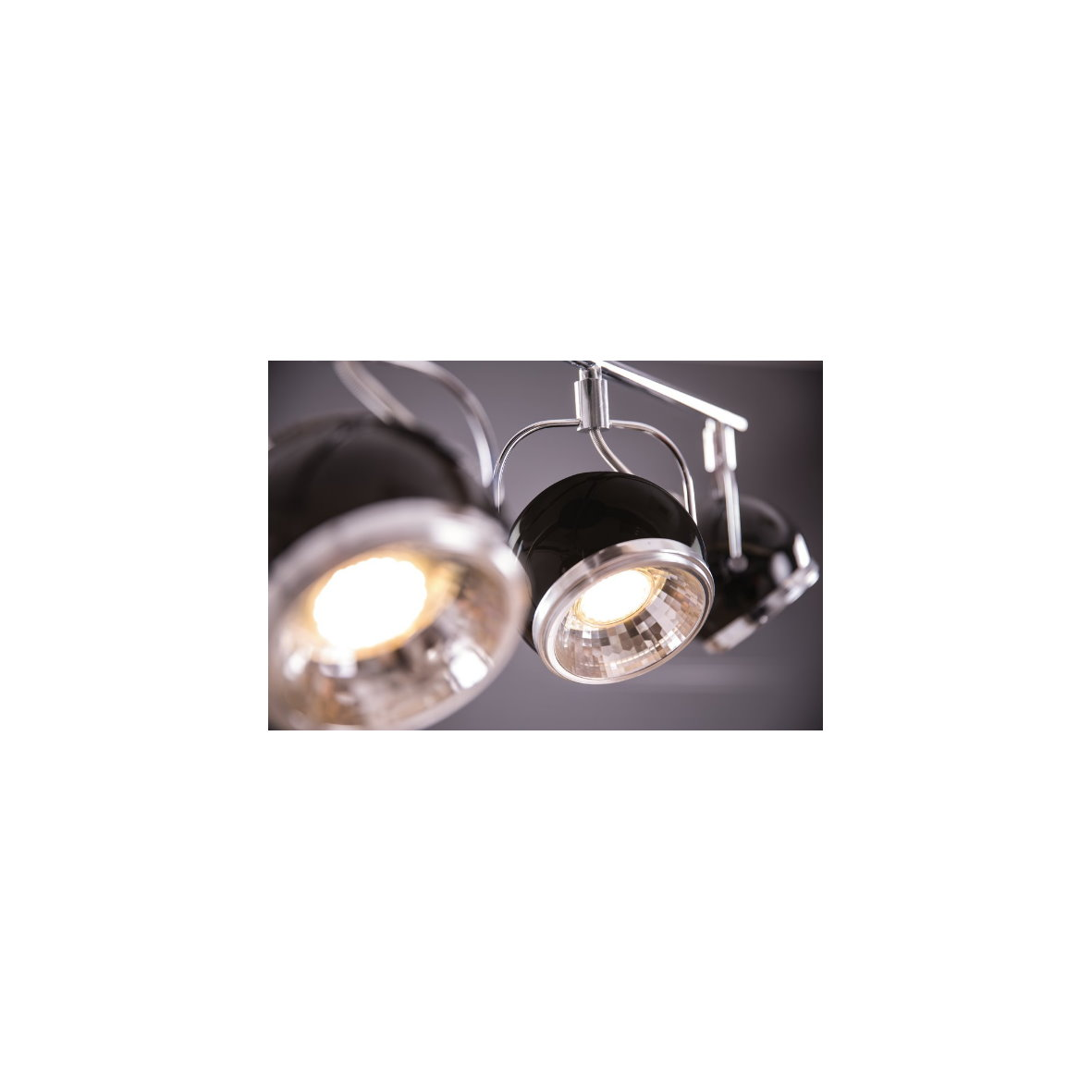 strahler gu10 spot leuchte lampe decke deckenleuchte tisch retro chrom rot wei ebay. Black Bedroom Furniture Sets. Home Design Ideas