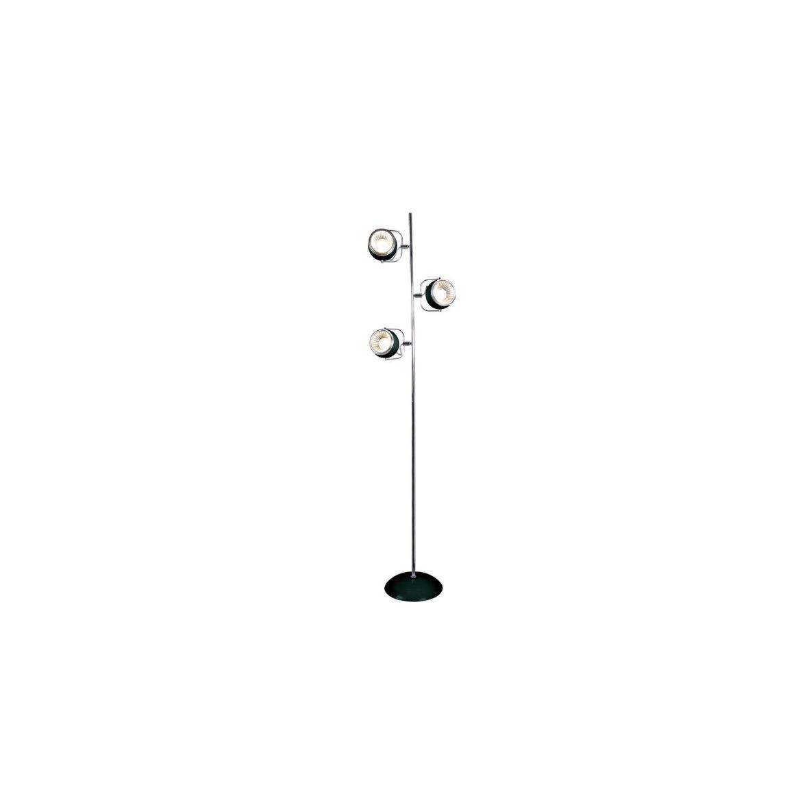 Strahler-GU10-Spot-Leuchte-Lampe-Decke-Deckenleuchte-Tisch-Retro-chrom-rot-weiss