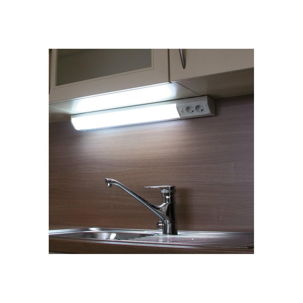 steckdose schalter t5 unterbau leuchte k che eck anbau lichtleiste. Black Bedroom Furniture Sets. Home Design Ideas