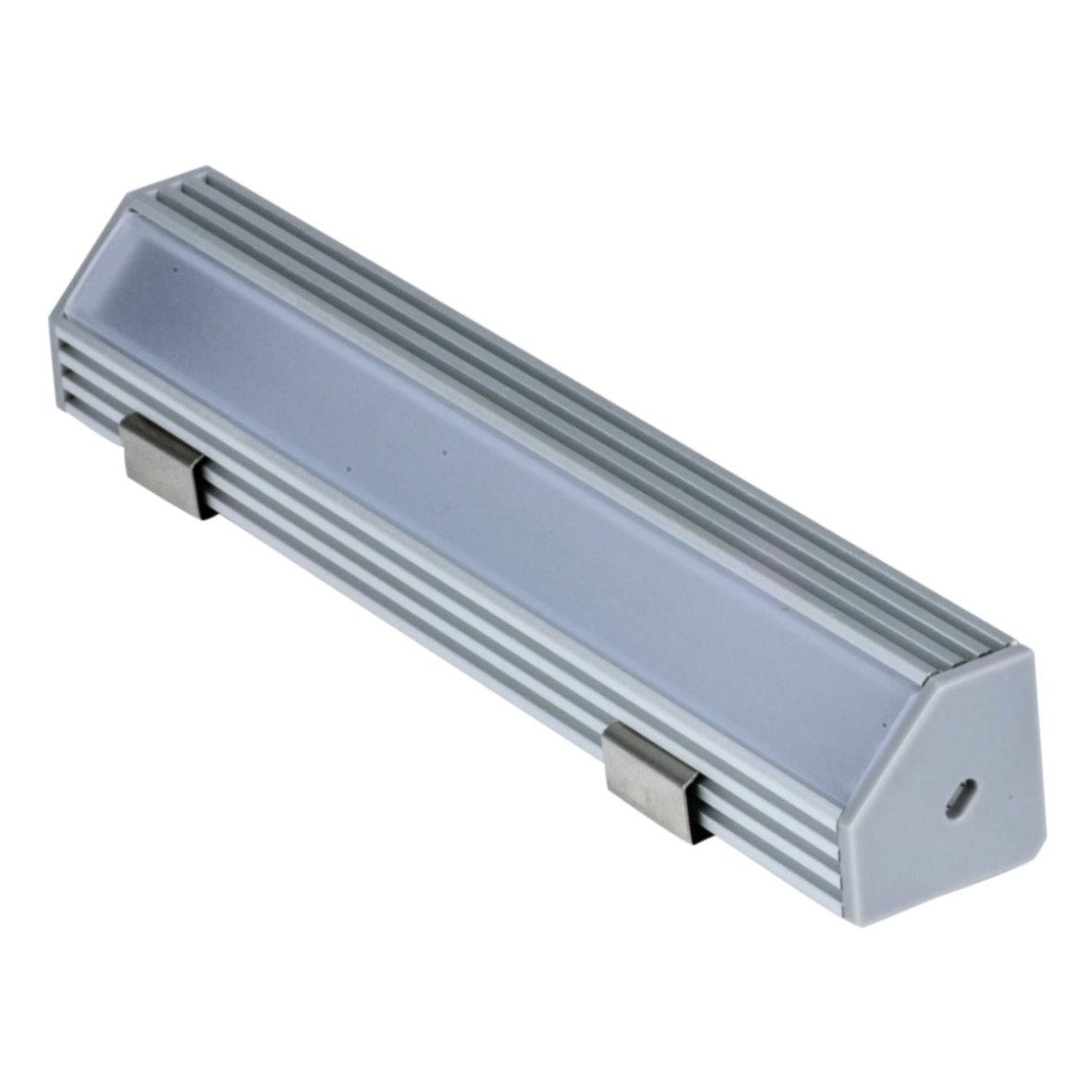 19 9 m led aluprofil alu profil schiene aluminium strip streifen lichtband ebay. Black Bedroom Furniture Sets. Home Design Ideas