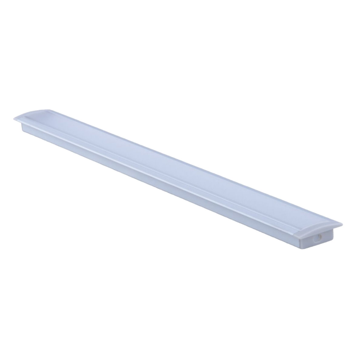 24 9 m led aluprofil alu profil lichtband schiene aluminium strip streifen ebay. Black Bedroom Furniture Sets. Home Design Ideas
