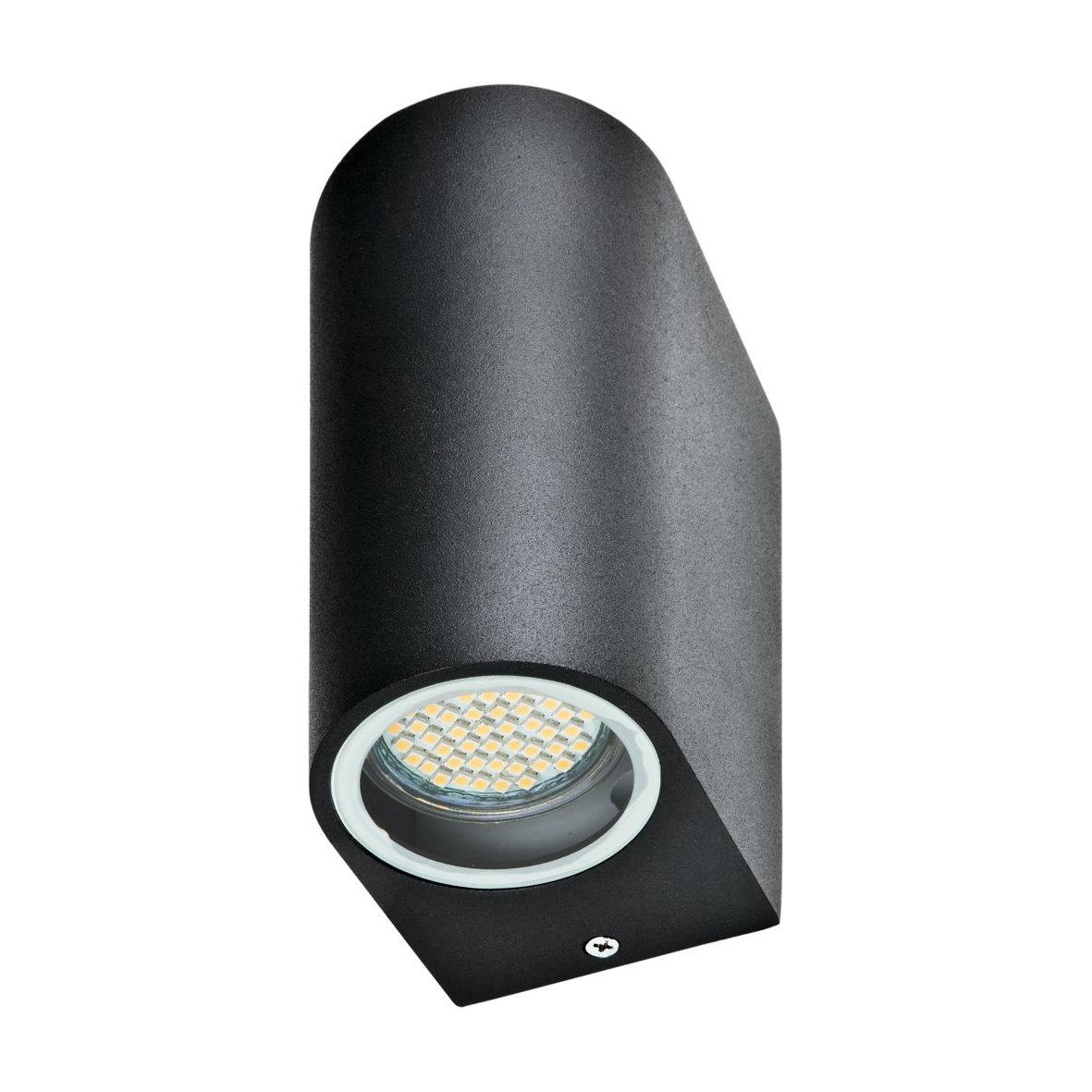 feuchtraum wandleuchte gu10 wandstrahler spot lampe wand. Black Bedroom Furniture Sets. Home Design Ideas
