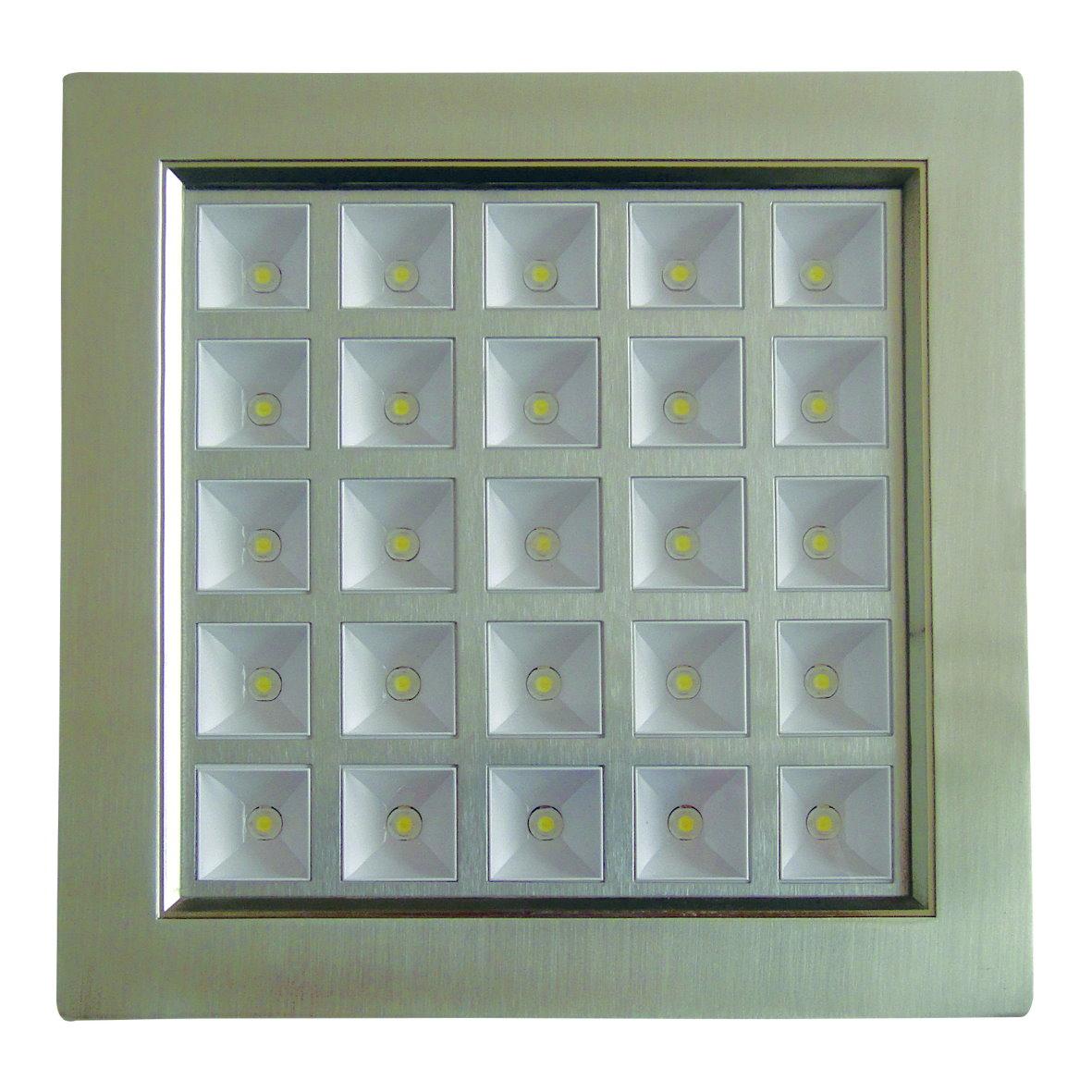 led panel einbaustrahler spot einbau strahler leuchte aluminium bis 25w 1900lm. Black Bedroom Furniture Sets. Home Design Ideas