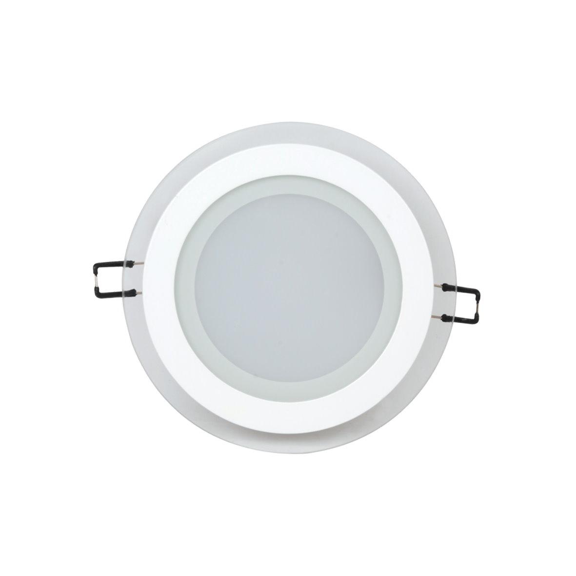 led aluminium einbaustrahler kristallglas mit trafo 230v 6w 12w 15w bis 1200lm. Black Bedroom Furniture Sets. Home Design Ideas