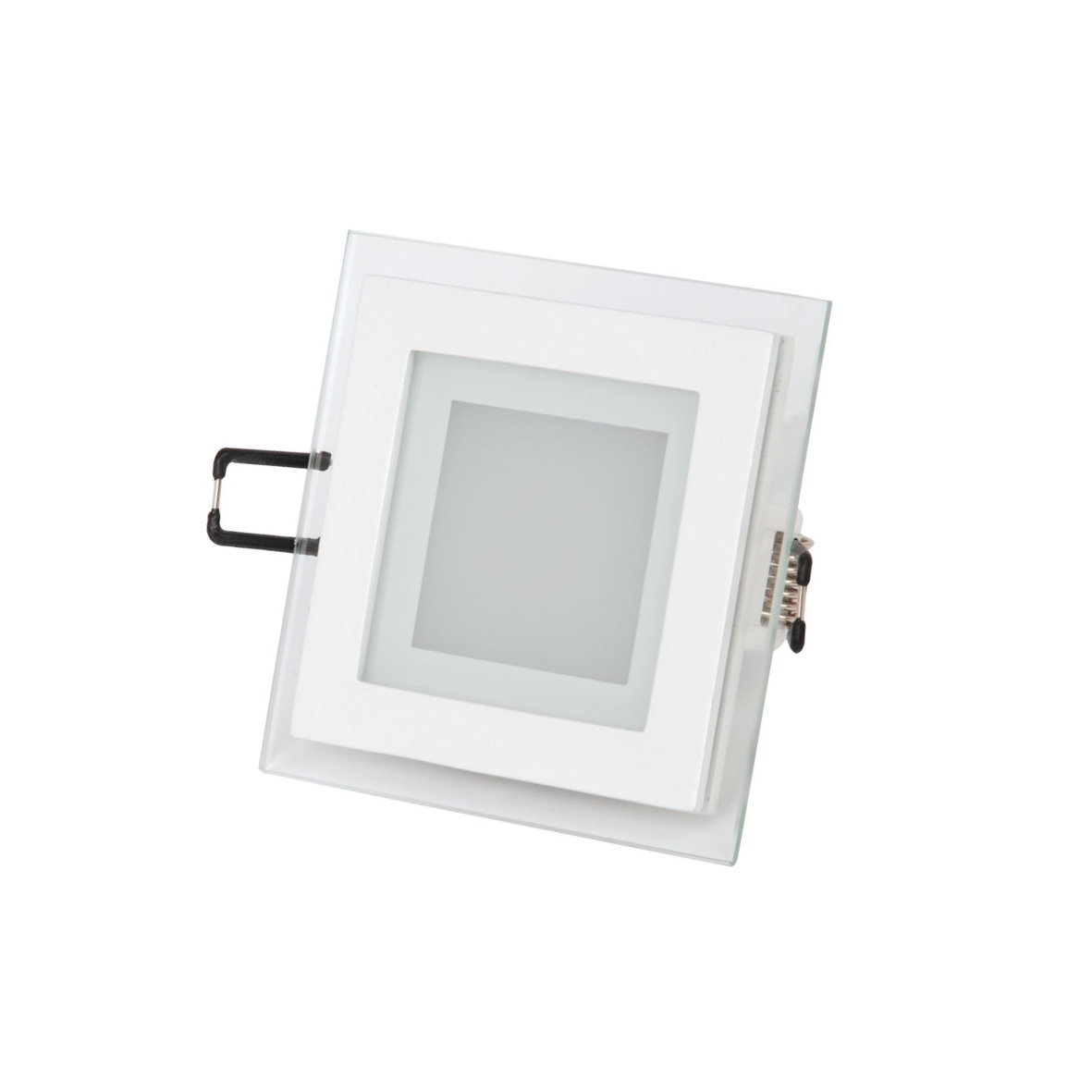 led aluminium einbaustrahler kristallglas mit trafo 230v 6w 12w 15w bis 1200lm ebay. Black Bedroom Furniture Sets. Home Design Ideas