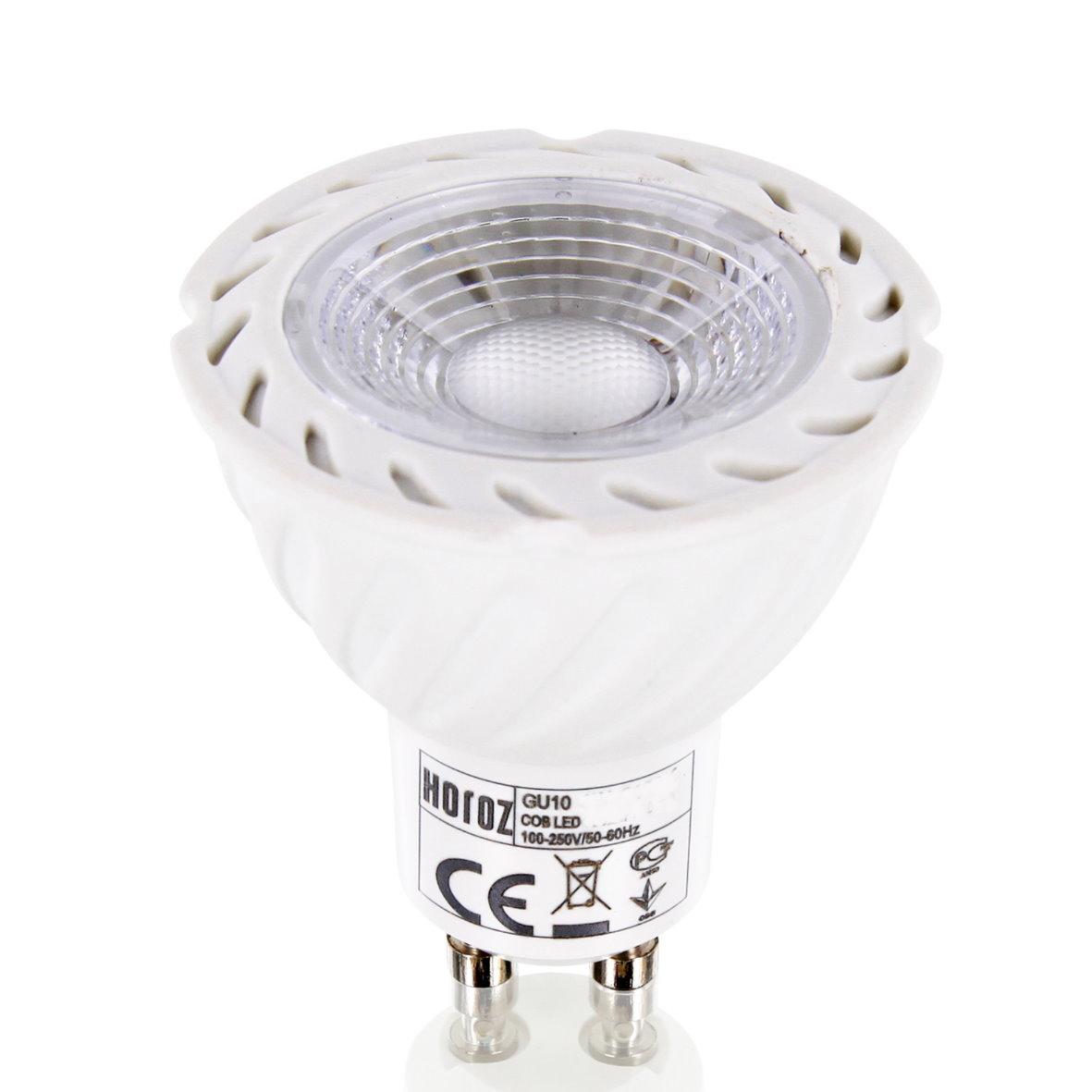 led spot gu10 leuchtmittel strahler 38 mr16 reflektor 230v 4w 6w 8w bis 650lm ebay. Black Bedroom Furniture Sets. Home Design Ideas