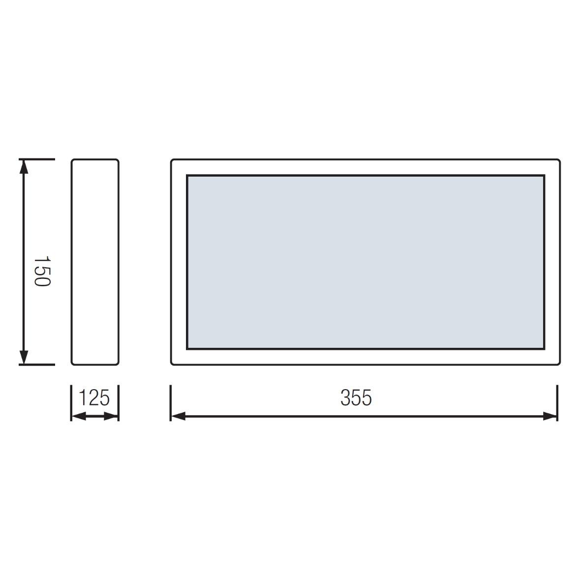 led exit notbeleuchtung fluchtwegleuchte notleuchte notausgang notlicht leuchte ebay. Black Bedroom Furniture Sets. Home Design Ideas