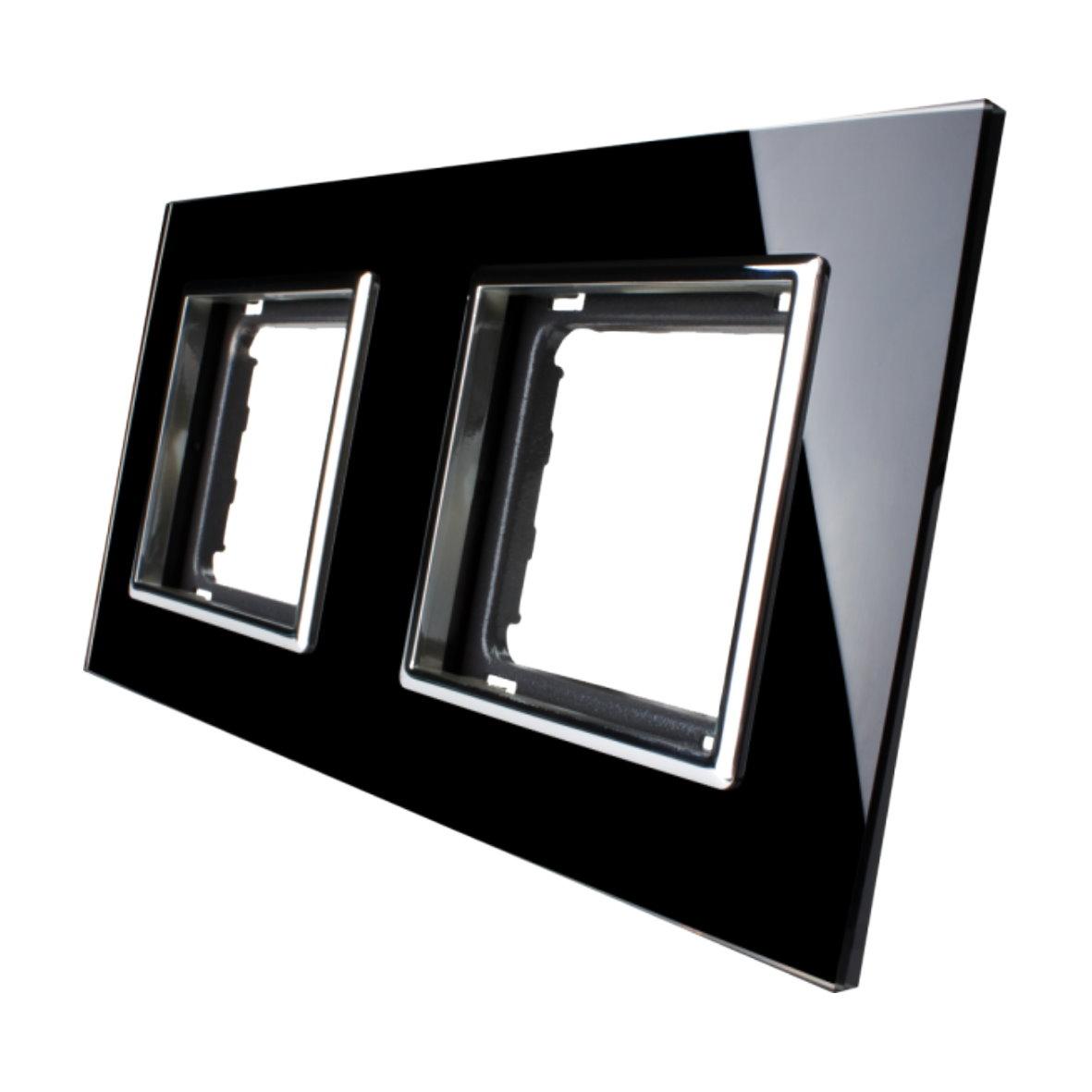 Glas Steckdosen. Orgon Ip Steckdose W Chrom Opal Metall Glas With ...