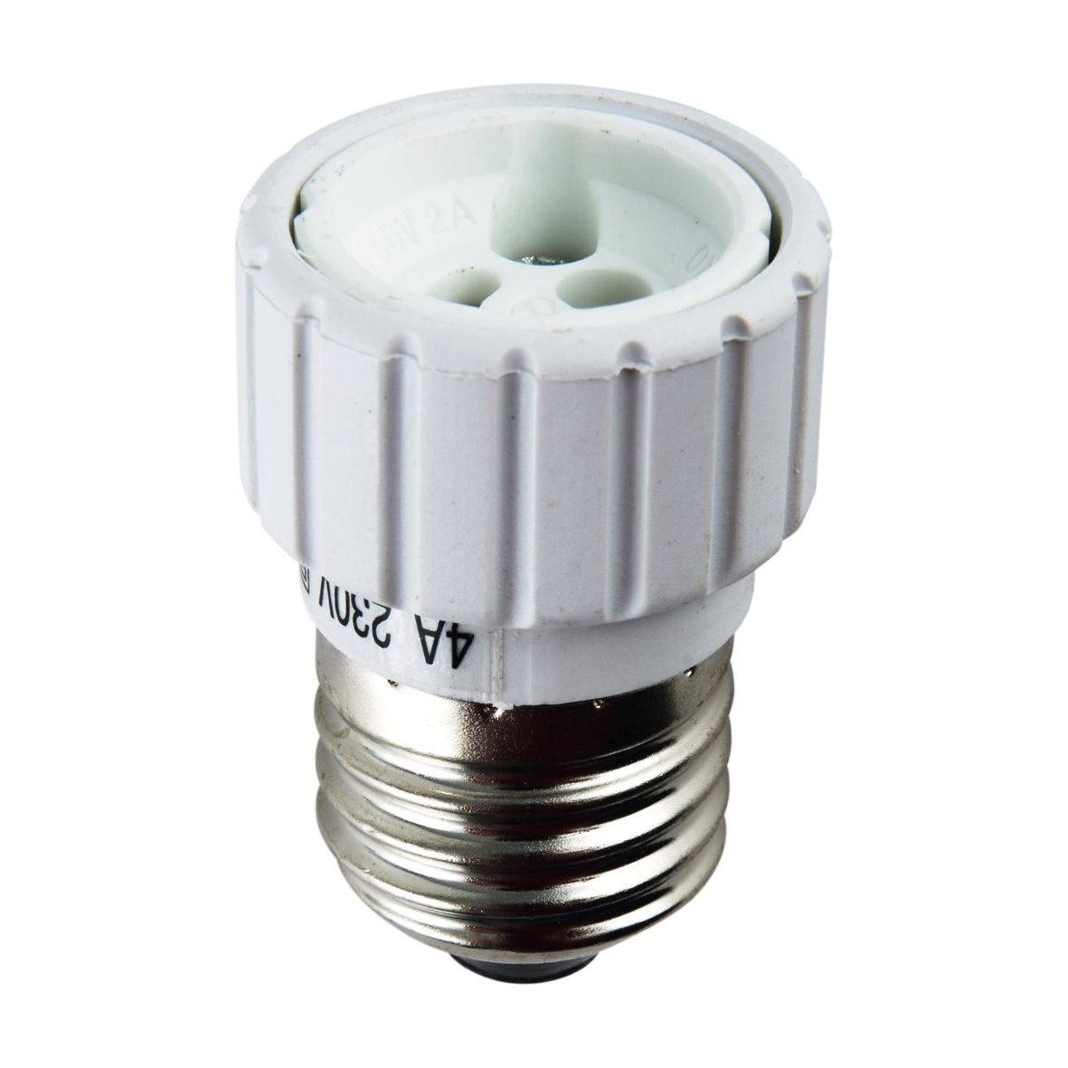 mount holder adapter converter socket e27 e14 to gu10 g9 gu9 gx5 3 gx53 ebay. Black Bedroom Furniture Sets. Home Design Ideas