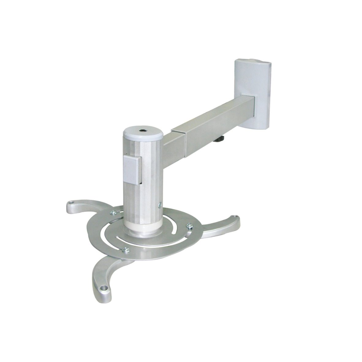 universal halterung beamer projektor halter decke wand alu stahl 360 teleskop ebay. Black Bedroom Furniture Sets. Home Design Ideas