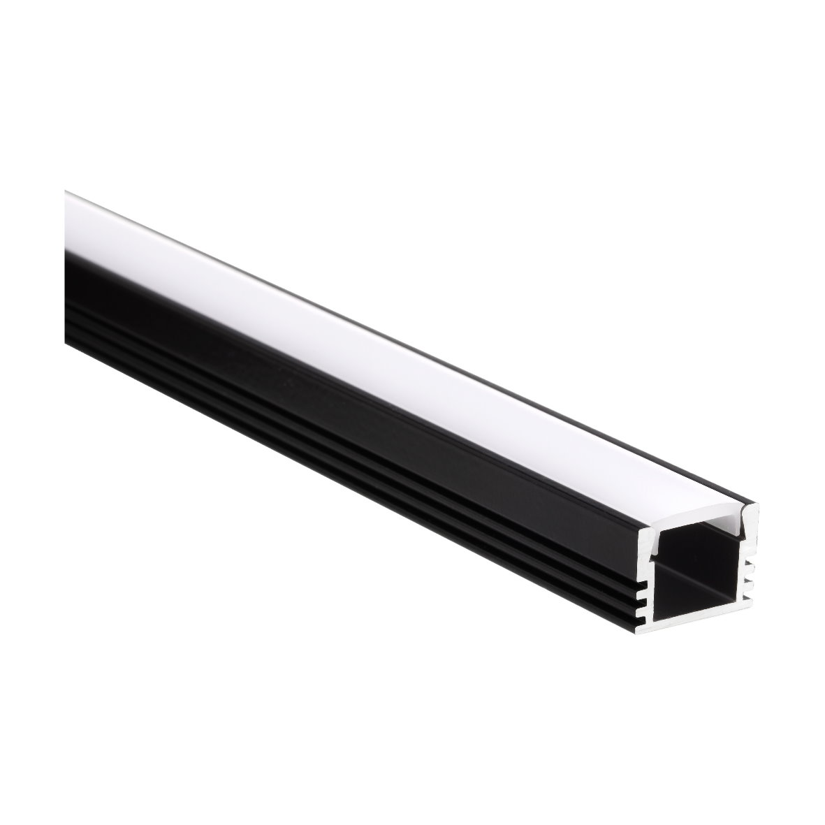 14 9 m led aluprofil eloxiert abdeckung aluminium. Black Bedroom Furniture Sets. Home Design Ideas