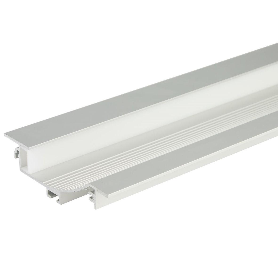34 9 m led alu profil aluprofil schiene aluminium f r strip stripe streifen ebay. Black Bedroom Furniture Sets. Home Design Ideas