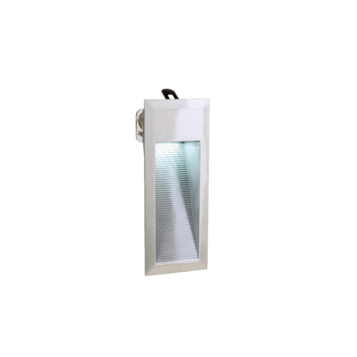 slv led wandeinbauleuchte 230v aussen garten leuchte spot wand strahler einbau ebay. Black Bedroom Furniture Sets. Home Design Ideas