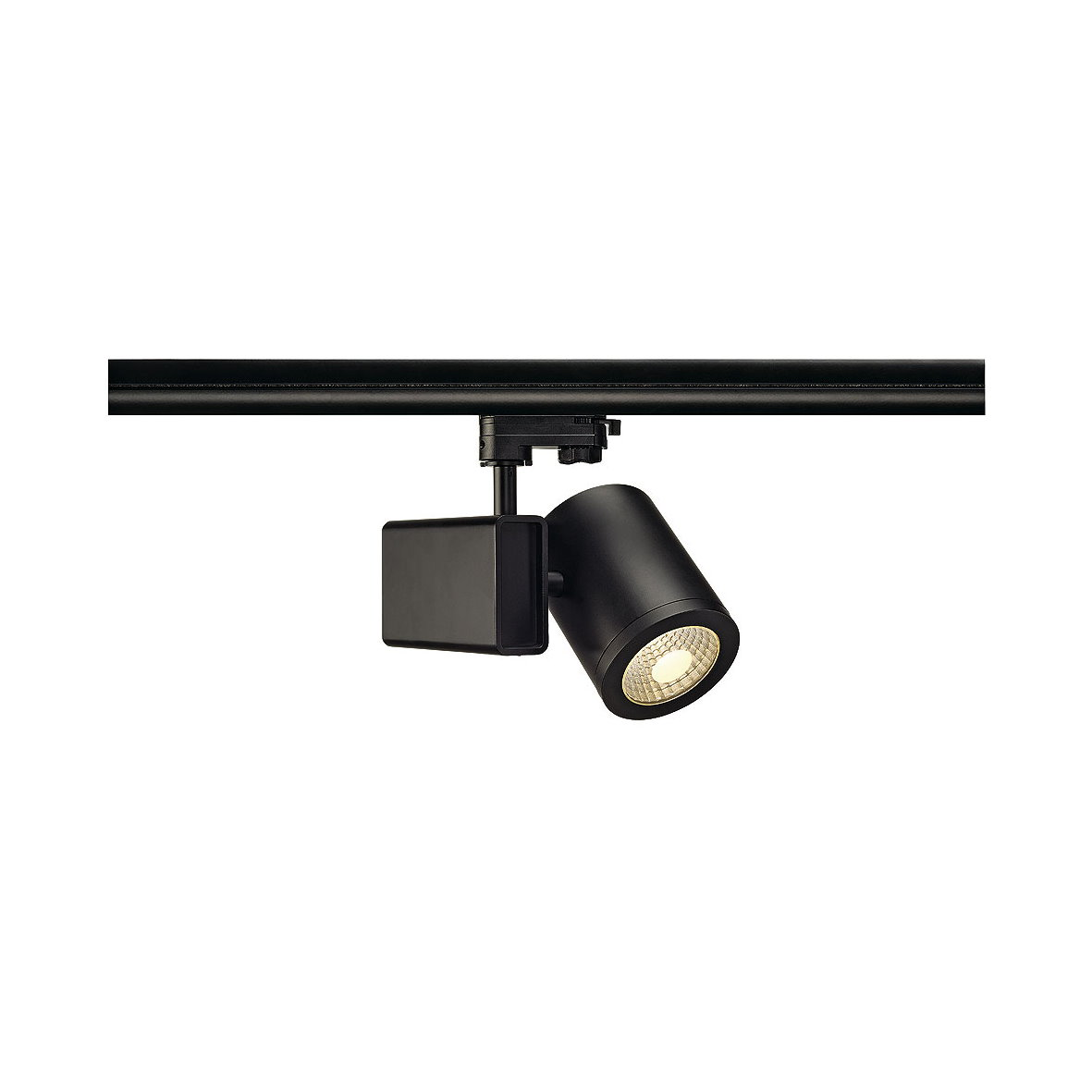 slv led 3 phasen spot strahler leuchte stromschiene lichtschiene 230v 3p alu ebay. Black Bedroom Furniture Sets. Home Design Ideas