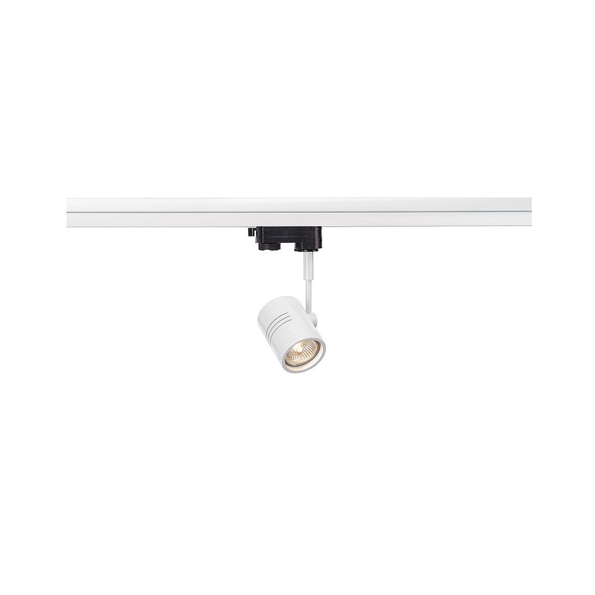 slv 3 phases spot projecteur incl adaptateur clairage. Black Bedroom Furniture Sets. Home Design Ideas