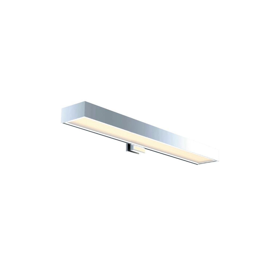 led spiegelleuchte spiegelaufsatz leuchte spiegel aufsatz strahler alu chrom ebay. Black Bedroom Furniture Sets. Home Design Ideas