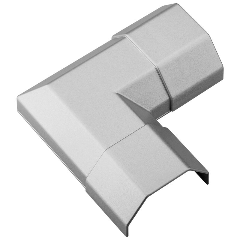 aluminium kabelkanal 1 1m alu kabel kanal kabelleiste lcd tv schmall breit eck ebay. Black Bedroom Furniture Sets. Home Design Ideas
