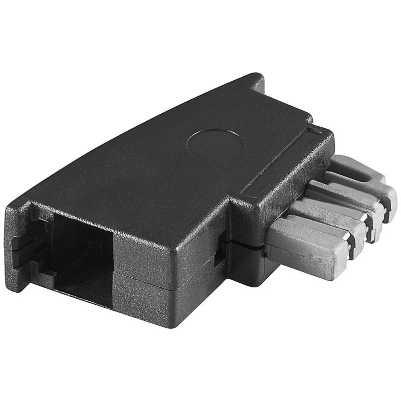 TAE Telefon Adapter Verteiler Netzwerk RJ45 Stecker ...