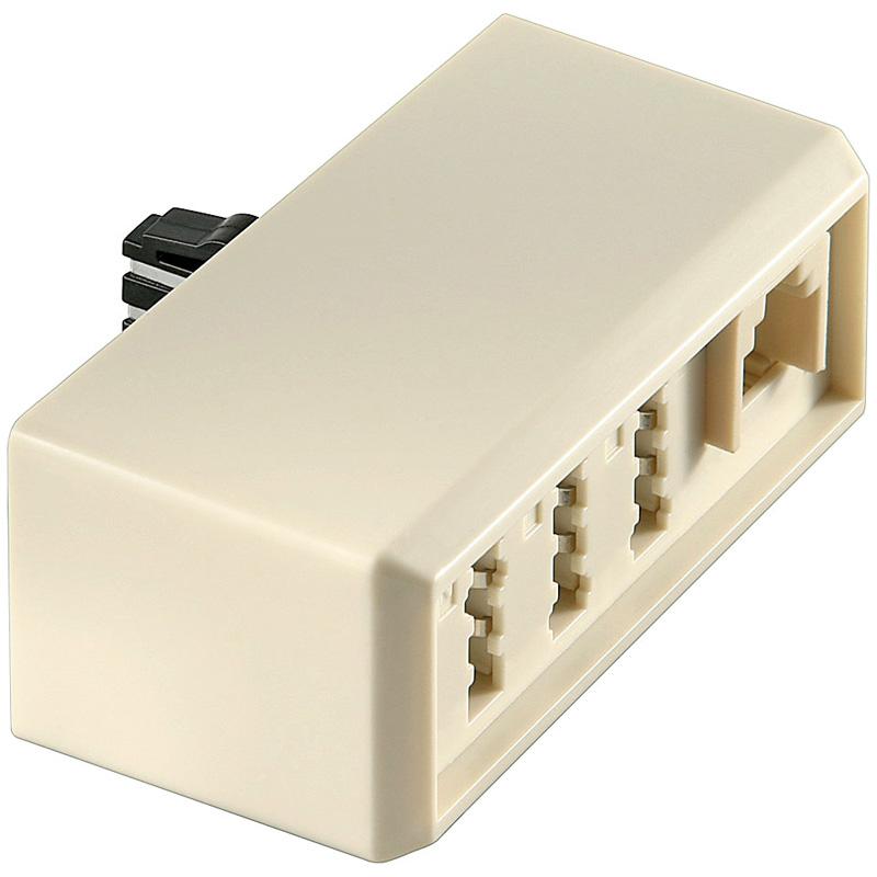 tae telefon adapter verteiler netzwerk rj45 stecker kupplung t adapter splitter ebay. Black Bedroom Furniture Sets. Home Design Ideas