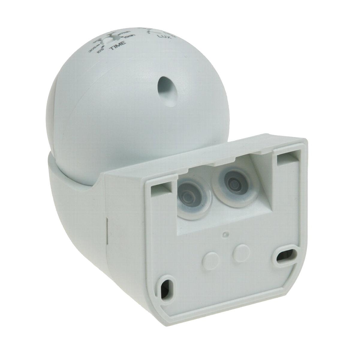 aussen bewegungsmelder sensor 180 ip44 led geeignet 1 800w max 12m 230v ebay. Black Bedroom Furniture Sets. Home Design Ideas