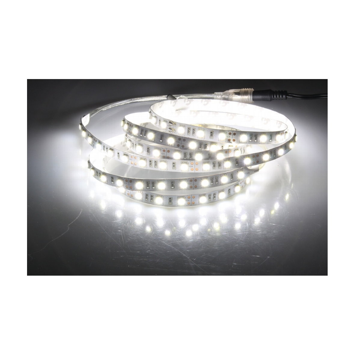 13 95 m led 5050 lichtband dimmbar 60 smd m strip. Black Bedroom Furniture Sets. Home Design Ideas